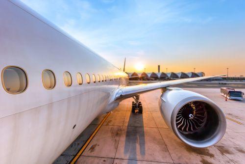 Beispielbild eines Flugzeugs für Blue Air Flugverspätung und Flugausfall