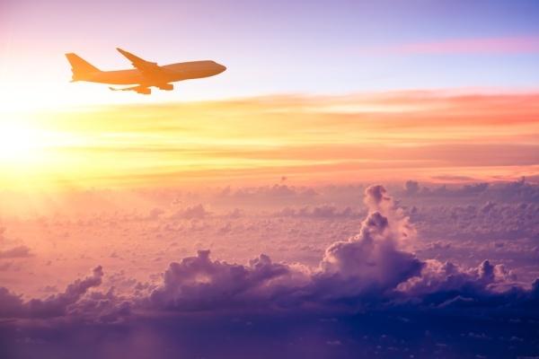 Beispielbild eines Flugzeugs für Air France Flugverspätung und Flugausfall