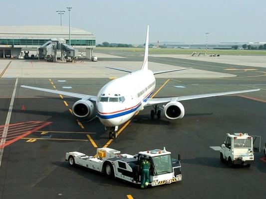 Beispielbild eines Flugzeugs für Germania Flugverspätung und Flugausfall