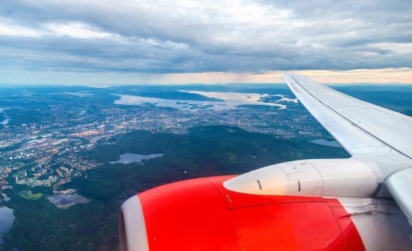 Beispielbild eines Flugzeugs für Air Baltic Flugverspätung und Flugausfall