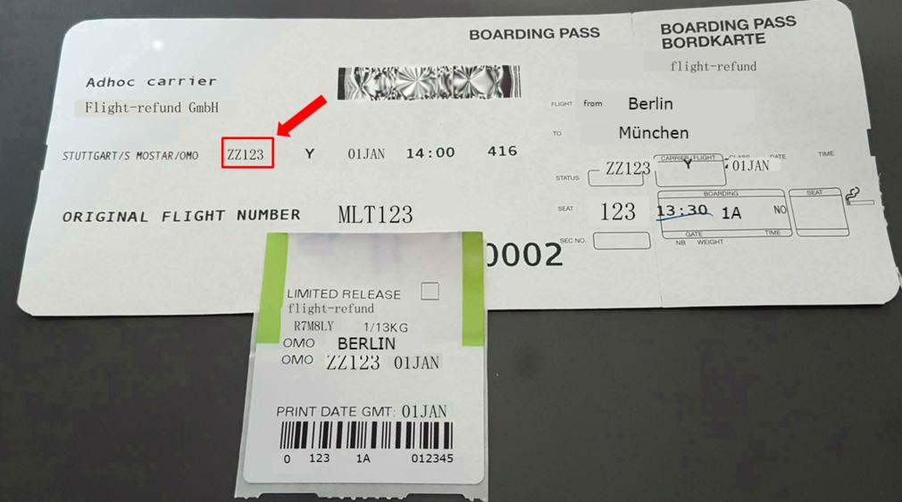 Wo finde ich den Buchungscode bei Air Malta
