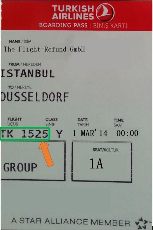 Wo finde ich den Buchungscode bei Turkish Airlines