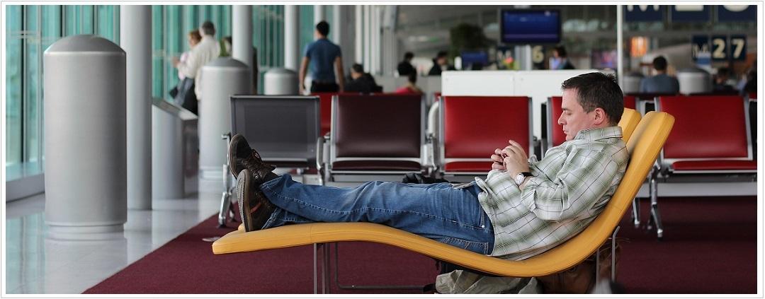 Zeit am Flughafen